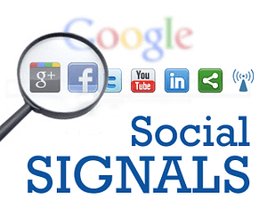 Link-building with social media is part of an effective SEO strategy.