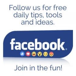 Follow us on Facebook for free daily SEO and marketing tips, tools and ideas.