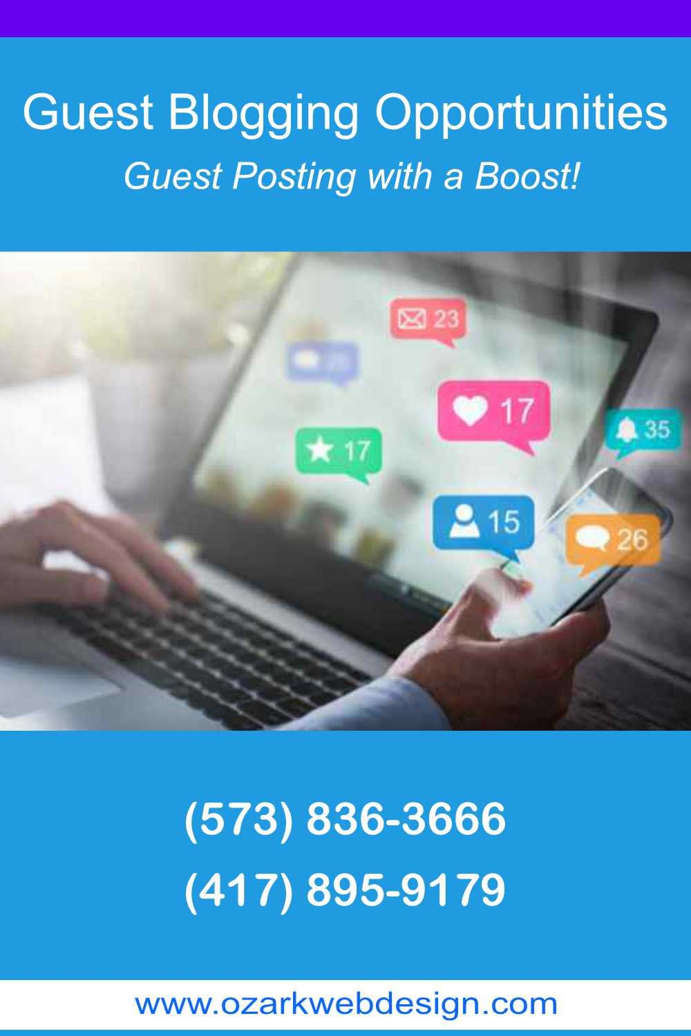 Guest blogging opportunities and blogs for guest posting