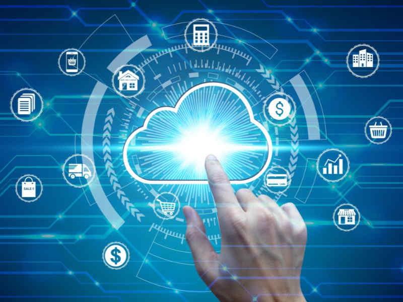 web hosting and cloud computing image