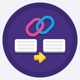 Link building & backlinks icon